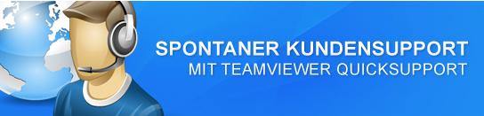 Online-Support mit TeamViewer